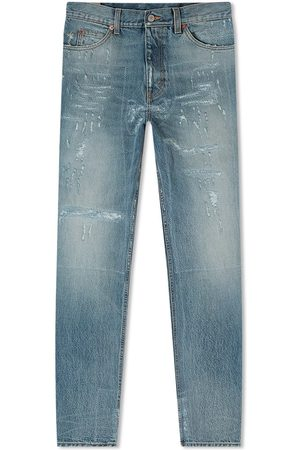 Gucci Regular Distressed Jean
