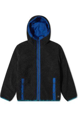 Paul Smith Reversible Sherpa And Nylon Fleece Jacket