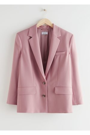 & OTHER STORIES Boxy Single Breasted Blazer