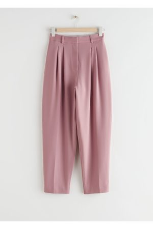 & OTHER STORIES Tapered Wool Blend Trousers