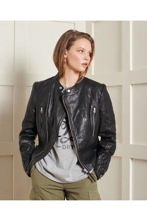 Superdry Classic Leather Racer Jacket