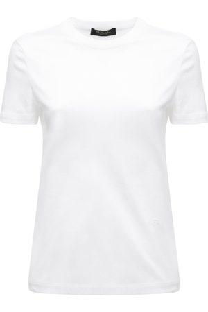 Loro Piana Women T-shirts - Cotton Jersey T-shirt