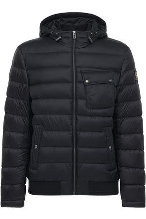 Belstaff Men Jackets - Streamline Nylon Down Jacket