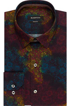 Bugatchi Men Shirts - Men's Shaped Fit Floral Button-Up Shirt