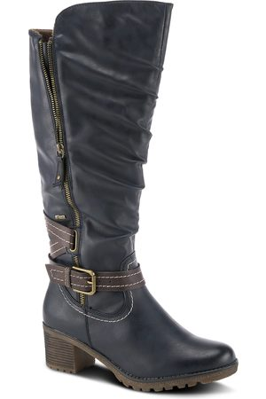 Spring Step Women's Spring Street Gemisola Water Resistant Faux Fur Lined Knee High Boot