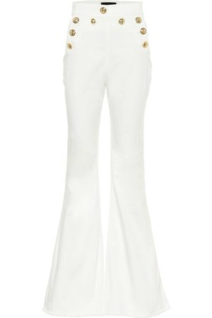 Dundas Stretch-cotton flared jeans