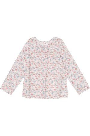 BONPOINT Girls Tops - Paige Liberty floral cotton top