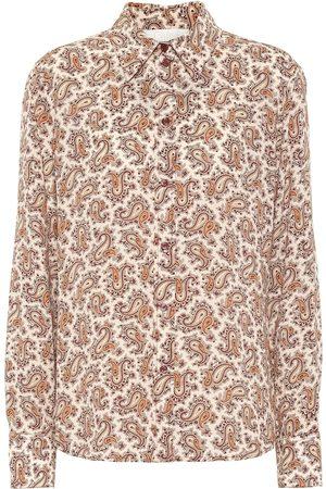 Chloé Paisley silk crêpe de chine shirt