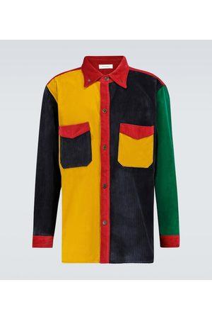 WALES BONNER Notting Hill patchwork shirt
