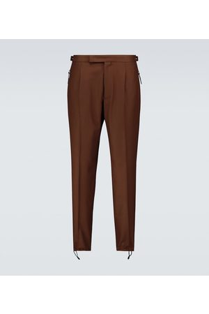 Ermenegildo Zegna Formal wool-blend pants