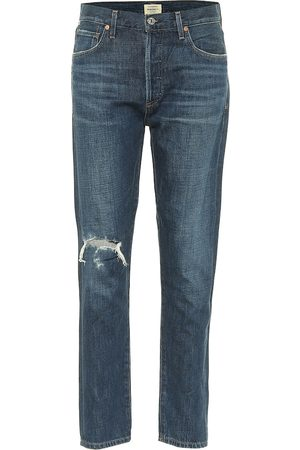 Citizens of Humanity Liya high-rise straight fit jeans
