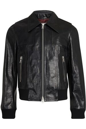 DRIES VAN NOTEN Leather jacket
