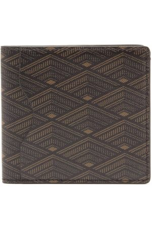 Métier From Dusk Till Dawn Coated-canvas Bi-fold Wallet - Mens - Dark Grey