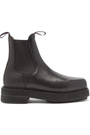 Eytys Men Chelsea Boots - Ortega Chunky Leather Chelsea Boots - Mens