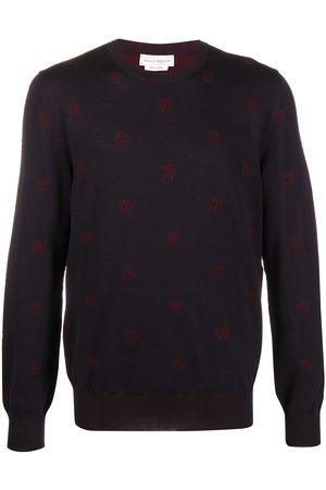 Alexander McQueen Skull patterned jumper