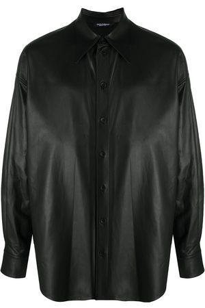 Dolce & Gabbana Lambskin button-down shirt