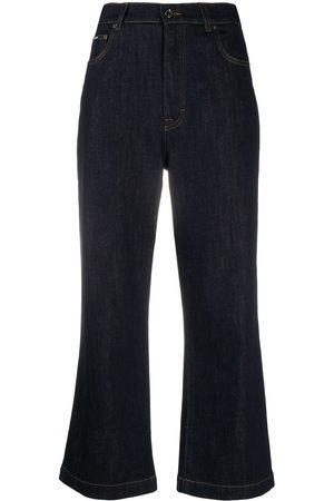 Dolce & Gabbana Women High Waisted - High-waisted flared jeans