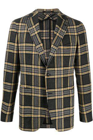 TAGLIATORE Check blazer - Grey