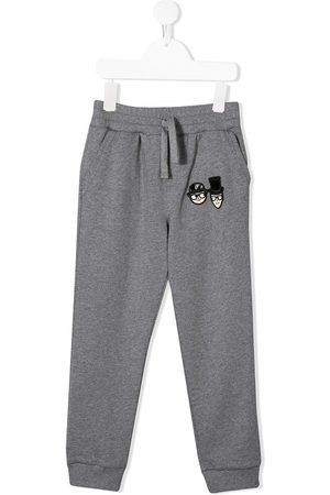 Dolce & Gabbana Designers patch track pants - Grey