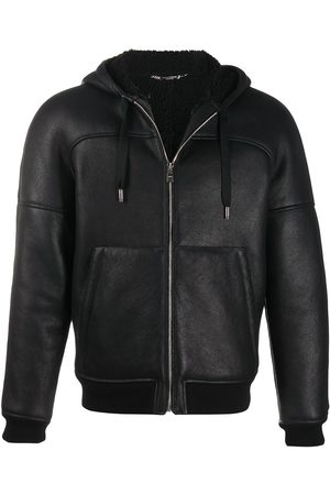 Dolce & Gabbana Lambskin hooded jacket
