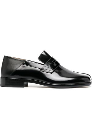 Maison Margiela Men Loafers - Tabi leather loafers