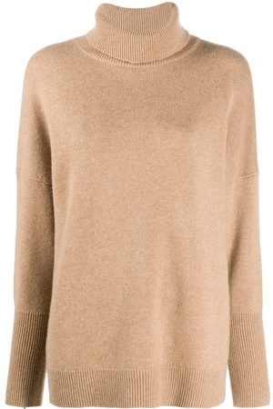 Chinti and Parker High neck cashmere jumper - Neutrals
