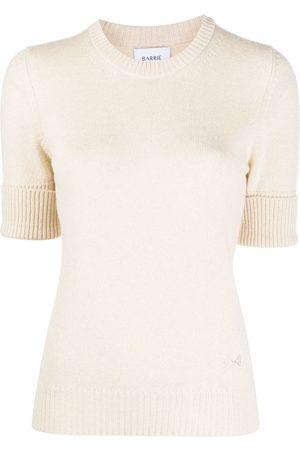 Barrie Blabel cashmere short-sleeve jumper - Neutrals