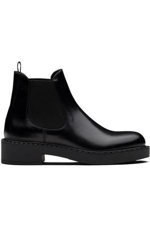 Prada Brushed-finish 50mm ankle boots