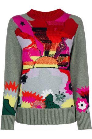 Barrie Landscape knit jumper
