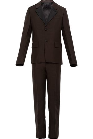 Prada Single-breasted wool and mohair suit
