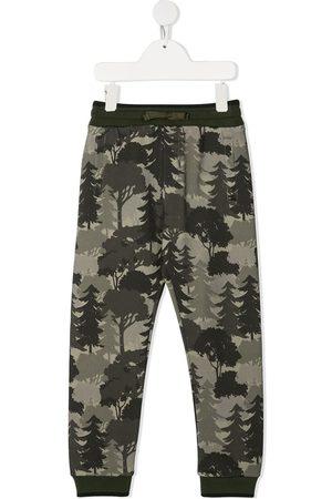 Dolce & Gabbana Forest-print track pants