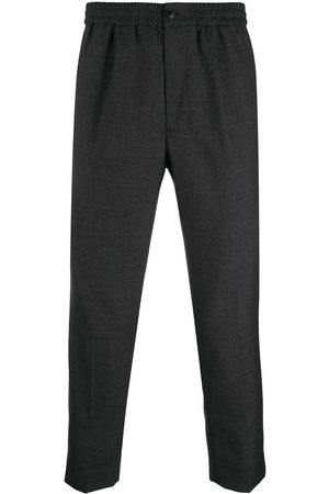 Ami Cropped tailored trousers - Grey