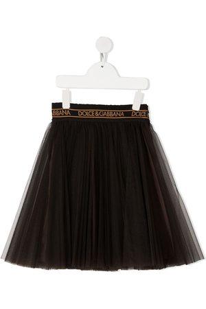 Dolce & Gabbana Logo waistband tutu