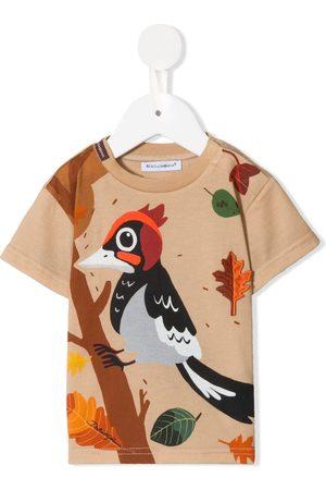Dolce & Gabbana Woodpecker-print T-shirt