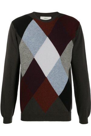 PRINGLE OF SCOTLAND Argyle cashmere jumper