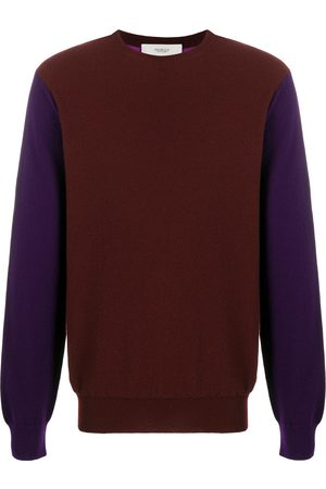 Pringle of Scotland Men Sweatshirts - Colour-block cashmere jumper