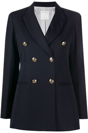 Sandro Women Blazers - Double-breasted tailored blazer