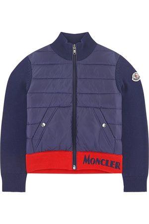Moncler Boys Cardigans - Kids - Cardigan Navy - Boy - 8 years - Navy - Cardigans