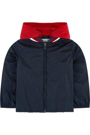 Gucci Boys Sports Jackets - Kids - Navy Logo Back Windbreaker - Boy - 4 years - - Windbreakers