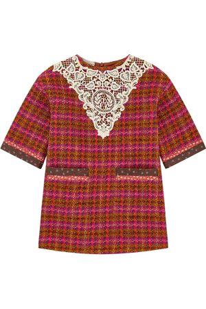 Gucci Mini Me tweed dress