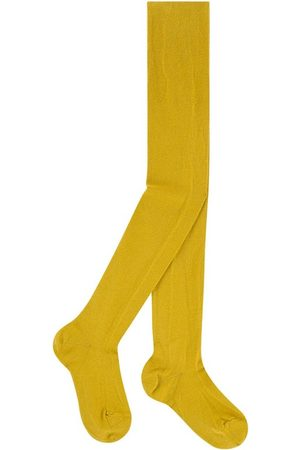 CONDOR Knit tights - Curry - Unisex - 8 Years - - Tights