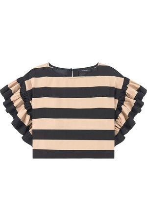 MONNALISA Printed twill blouse