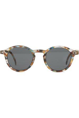 Izipizi Kids - Sunglasses - #D Sun Junior Blue Tortoise Soft Grey - Unisex - 12-18 years - - Sunglasses