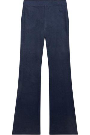 Designers Remix Wide Leg Pants - Sale - Flare fit velvet pants - Frances - Unisex - 8 Years - - Trousers