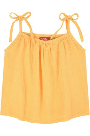 Bakker made with love Sale - Cotton crepe top - Girl - 5 Years - - Tanks and vests