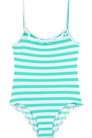 Les Ultraviolettes Girls Swimsuits - UV sun protection stripe print one-piece swimsuit - Unisex - 4 Years - - Swim suits
