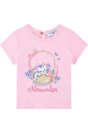 MONNALISA Sale - Printed T-shirt - Girl - 6 months - - T-shirts