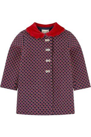 Gucci Girls Duffle Coat - Kids - Smart jacquard knit coat - Girl - 18-24 months - - Duffle coats