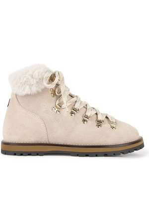 Moncler Kids - Suede Boots - Girl - 31 EU - - Ankle boots