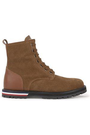 Moncler Boys Ankle Boots - Kids - Suede Boots - Boy - 30 EU - - Ankle boots
